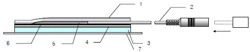 Budowa elektrody PROTENS do elektrostymulacji TENS
